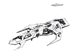 Fralath light cruiser